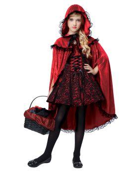 California Costumes 00491 Deluxe Riding Hood Costume