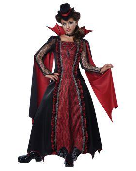 California Costumes 00502 Victorian Vampira Child Costume
