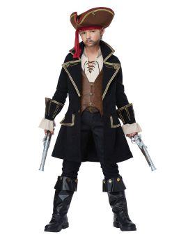 California Costumes 00527 Deluxe Pirate Captain Costume
