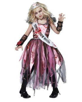 California Costumes 00529 Zombie Prom Queen Costume