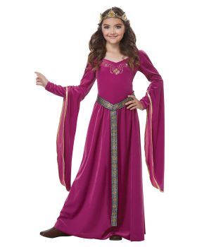 California Costumes 00572 Medieval Princess Queen Renaissance Girls Cost ...
