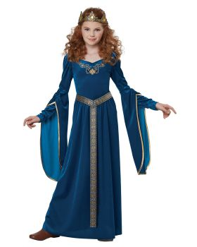 California Costumes 00573 Knight Medieval Princess Girls Costume