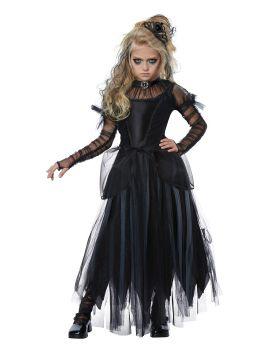 California Costumes 00585 Haunted Dark Princess Girls Costume