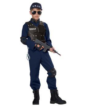 California Costumes 00592 Junior Swat Jumpsuit