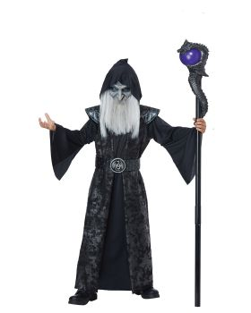 California Costumes 00599 Dark Wizard