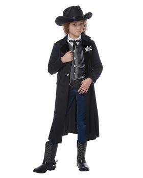 California Costumes 00605 High Noon Wild West Sheriff Child Costume