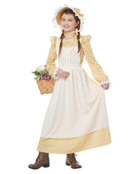California Costumes 00610 Little House Prairie Girls Costume