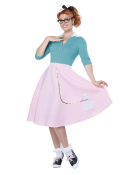 California Costumes 00830 Poodle Skirt Costume