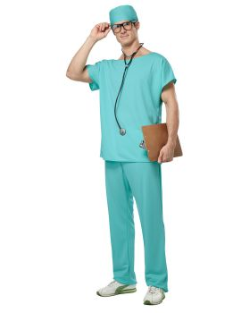 California Costumes 01027 Adult Doctor Scrubs