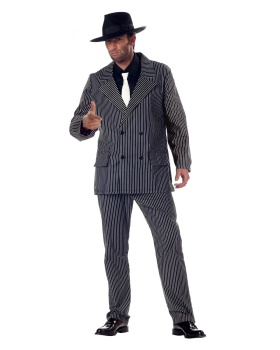 California Costumes 01028 Adult Polyester Gangster Costume