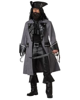 California Costumes 01131 Adult Blackbeard, The Pirate