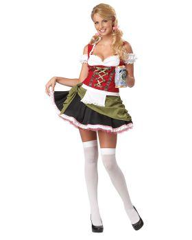California Costumes 01135 Adult Bavarian Bar Maid
