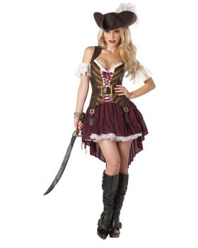 California Costumes 01164 Sexy Swashbuckler Pirate Set