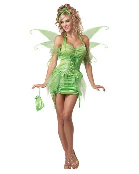 California Costumes 01220 Eye Candy - Tinkerbell Fairy Adult