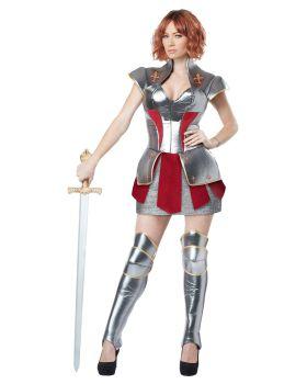 California Costumes 01250 Joan Of Arc Historical Heroine Costume