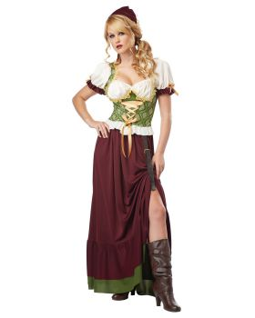 California Costumes 01254 Adult Renaissance Wench