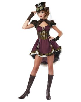 California Costumes 01281 Steampunk Girl Adult