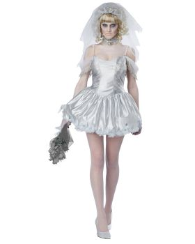 California Costumes 01287 Ghostly Bride Adult