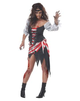 California Costumes 01291 Ruby The Pirate Beauty Costume
