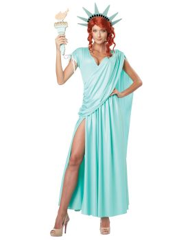 California Costumes 01310 Adult Lady Liberty