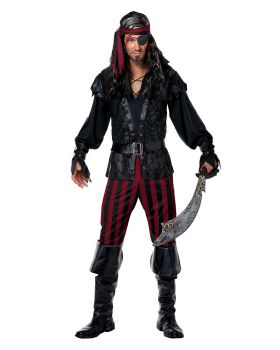 California Costumes 01353 Ruthless Rogue Pirate Buccaneer Swashbuckler