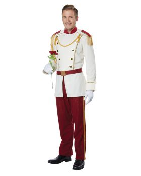 California Costumes F820 Royal Storybook Prince Adult Man Costume
