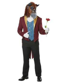 California Costumes 01463 Storybook Beast Adult Man Costume