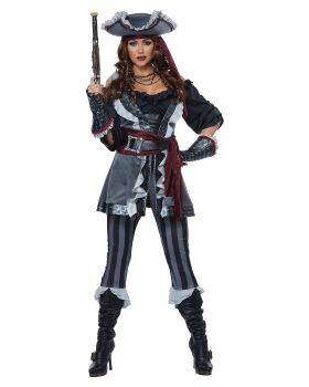 California Costumes 01482 Captain Blackheart Adult Woman Costume