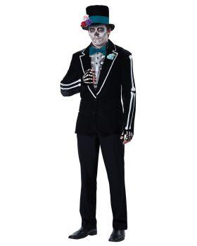 California Costumes 01504 Adult El Novio Muerto
