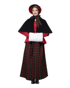California Costumes 01515 HOLIDAY CAROLER WOMAN/ADULT