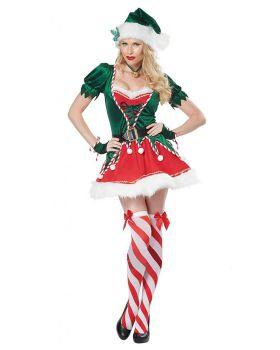 California Costumes 01552 Santa Helper Adult Costume