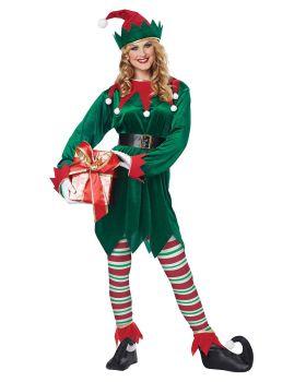 California Costumes 01554 Christmas Elf Adult Costume