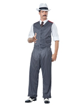 California Costumes 01582 Mobster Costume