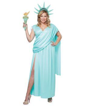 California Costumes 01729 Lady Liberty Plus