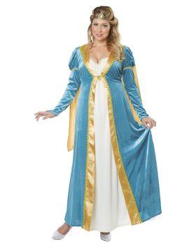 California Costumes 01742 Plus-Size Elegant Empress Renaissance Lady Lon ...