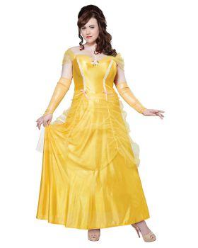 California Costumes 01745 Plus-Size Classic Beauty Fairytale Princess Lo ...