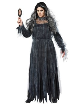California Costumes 01768 Plus Size The Legend Of Bloody Mary Adult Woma ...