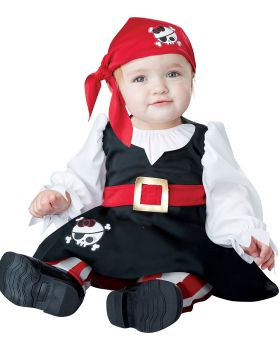 California Costumes 10028 Baby Girls' Petite Pirate Infant