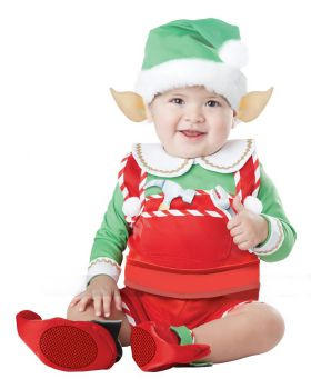 California Costumes 10038 Unisex-Baby Infant Santa'S Lil Helper