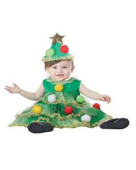 California Costumes 10041 Baby-Girls Infant Lil' Christmas Tree