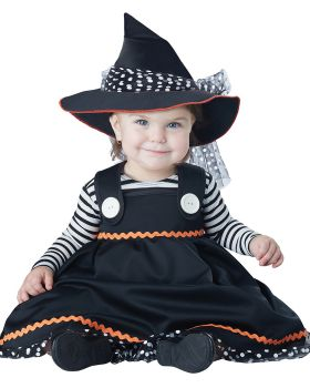 California Costumes 10048 Baby Girls Crafty Little Witch Infant Costume