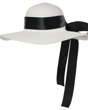 California Costumes 60752 Adult Straw Hat With Ribbon Accessory