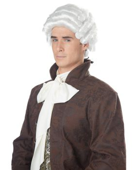 California Costumes 70172 Adult Colonial Man Wig