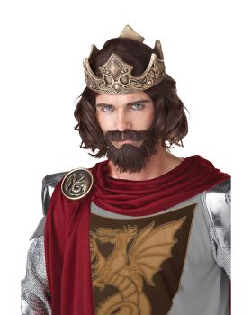 California Costumes 70676 Medieval King Wig