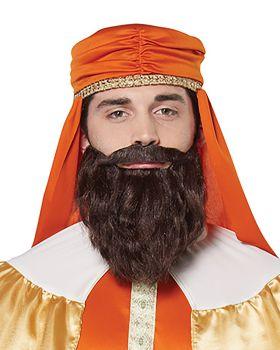 California Costumes 70920 Wise Man Standard Brown Wig And Beard