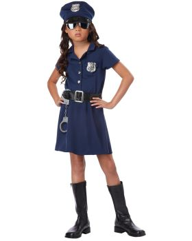 California Costumes CC00402SM Police Officer Child Sm 6-8
