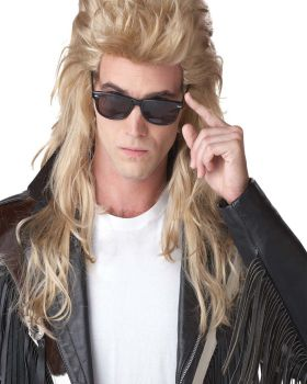 California Costumes CC70626BD 80'S Rock Mullet Blonde Wig