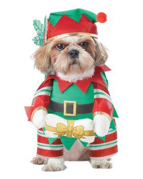 California Costumes PET20132 Elf Pup Dog Costume
