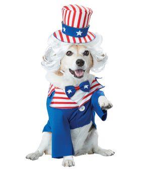 California Costumes PET20147 Uncle Sam Dog Costume