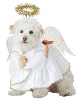 California Costumes PET20153 Heavenly Hound Dog Costume